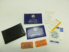 1997 97 PLYMOUTH BREEZE OWNERS MANUAL WARRANTY BOOK GUIDE BOOKLET CASE COVER OEM