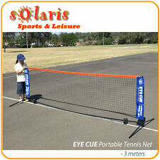 3 Meters Portable Foldable Mini Tennis Net & Post Set