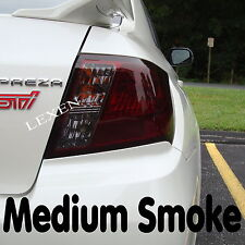 "NEW 16"" X 48"" MEDIUM SHADE SMOKE TAILLIGHT OR HEADLIGHT PVC FILM COVER OVERLAY c"