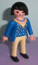 Playmobil  City life - Modern Lady with Black Hair wearing a Blue Top - NEW