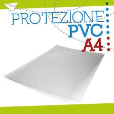 FOGLIO PVC TRASPARENTE A4 lastre foglio pannello fogli plexiglass lastra  100041