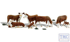A1843 Woodland Scenics OO Gauge Hereford Cows