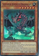YU-GI-OH CARD: SUBTERROR BEHEMOTH DRAGOSSUARY - SUPER RARE - RATE-EN083