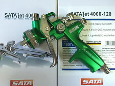 New in box Green HVLP WITH CUP Paint Spray Gun Gravity 1.3mm