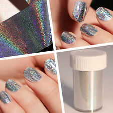 Laser Holographic Starry Nail Art Foil Shimmer Manicure Transfer Sticker Decal