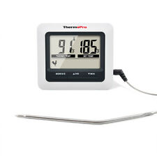 Digital Food Probe Cooking Meat Kitchen Oven Smoker BBQ Thermometer