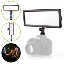 144pcs LED Dimmable Handheld Photo Video Light Panel On-Camera DV Camcorder Lamp