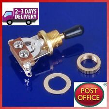 3-Way Guitar Selector Pickup Toggle Switch Guitar Parts For Les Paul Gold