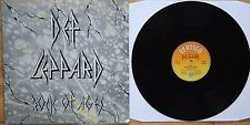 "EX! DEF LEPPARD ROCK OF AGES 12"" VINYL P/S"