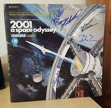 STANLEY KUBRICK 2001 A SPACE ODYSSEY SOUNDTRACK  VINYL LP SIGNED x 5 KEIR DULLEA