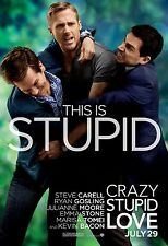 "Crazy, Stupid, Love. Movie Poster 18"" x 28"" ID:1"