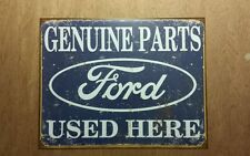 Vintage style Ford Bue Oval sign metal Mustang Torino GT 350 500 Super Snake
