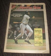 1973 Bobby Bonds - The Sporting News Magazine - SF Giants - No Label July