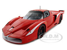 FERRARI FXX EVOLUZIONE ELITE RED EVOLUTION  1:18 MODEL CAR BY HOTWHEELS N2056