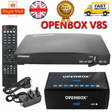 OPENBOX V8S Digital Freesat PVR Full HD TV Satellite Receiver Channel Box UK-New