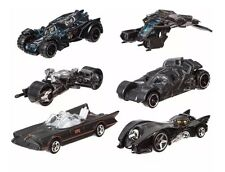 Batman Hot Wheels Complete 6 Car Set Batmobile Batpod The Bat
