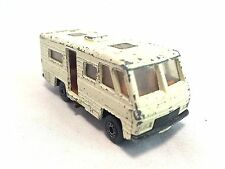 Matchbox Vintage 1980 No. 54 Die Cast White Mobile Home 1:64 Scale Loose Vehicle