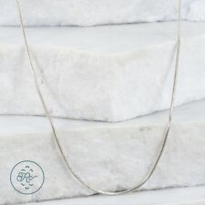 "Sterling Silver | ITALY 2mm Snake Chain 6.8g | Necklace (24"") KU2343"