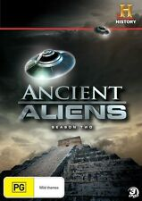 Ancient Aliens : Season 2 (DVD, 2012, 3-Disc Set)I CAN POST UP TO 5 SERIES FOR $