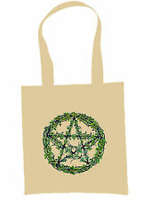 Wicca Symbol Eco Shopper  Tote Bag Pagan Witch Occult