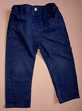 12-18 months boys baby clothes - blue trousers