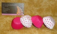"Pink Dot Mini Cupcake Papers,100 Ct.1.5"",Wilton,Girl Tea Party,Bake cups, Small"