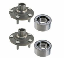 NEW Jaguar X-Type 2002-2008 Set of Front Left and Right Wheel Hub and Bearing