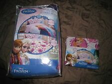 NIP DISNEY FROZEN ELSA & ANNA COMFORTER & 3 PIECE TWIN SHEET SET I SHIP EVERYDAY