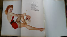 Esquire Magazine Christmas December 1942 Varga Pin Up Salvador Dali Foldout 310p
