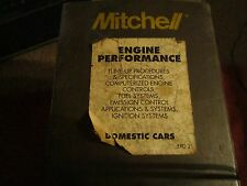 Mitchell 1986 & 1987 Domestic Engine Performance service and repair manual