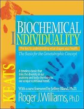 Biochemical Individuality by Roger J. Williams (1998, Paperback, Revised)