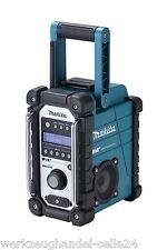 MAKITA Baustellenradio DMR105 DAB Digital Audio Broadcasting Akku-Radio Outdoor