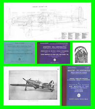 COLLECTION - MACCHI C202 FOLGORE AVIAZIONE AERONAUTICA AIRCRAFT Manual - DVD