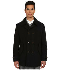 Vivienne Westwood MAN Melange classic Melton black Melange Coat UK 54 US 42.5