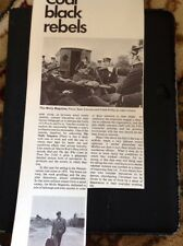 M6-3 Ephemera 1970 Article Film The Molly Maguires Connery Finlay