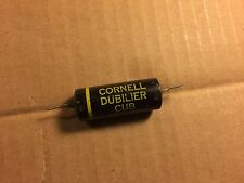Vintage Cornell Dubilier .1 uf 600v Cub Oil Capacitor Cap TESTED .092