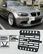 For 07-13 BMW E90 E92 E93 M3 Only Front Tow Hook License Plate Relocator Bracket