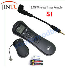 JINTU Wireless Timer Intervalometer Remote Control S1 for SONY A700 A850 A77 A65
