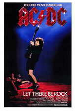 LET THERE BE ROCK Movie POSTER 27x40 Phil Rudd Ronald Belford Scott Cliff