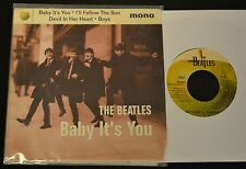 PICTURE SLEEVE LIMITED EDITION 90's The Beatles Capitol 58348 Baby It's You