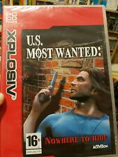 U.S. Most Wanted (NEW SEALED) PC GAME - FREE POST