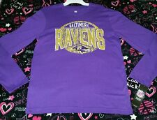Baltimore Ravens 100% Cotton long sleeve shirt, youth, XL 18, NWT, retail $22