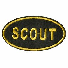 SCOUT iron on Patch 1pc simple to use quality made patch QUICK-N-EASY 2 USE