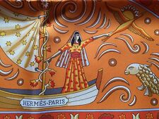 Hermes Paris silk Scarf Peuple Du Vent