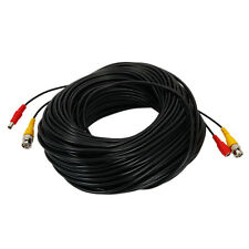 165ft 50M CCTV Video Cable Power Cable BNC DC Extension Cable for System Camera