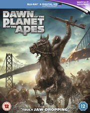 Dawn of the Planet of the Apes (Blu-ray Disc, 2014, Includes Digital Copy Ultra…