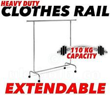 """6 """"Heavy Duty Abiti ferroviari fino a 110kg ALLUNGABILE altezza e lunghezza di 6 piedi / 179cm"""