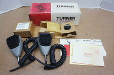 ‡ NEW! ‡ 2 - Turner NC450C Noise Cancelling Handheld Ceramic Microphone CB Radio