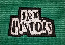 Sex Pistols Rockabilia Rock Music band Iron/ Sew-on Embroidered Patch/ Logo