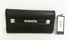 NEW ARRIVAL! Authentic NINE WEST Totally Tonal SLG Clutch Wallet Black $39
